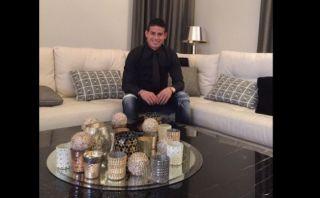 Twitter: James Rodríguez envía mensaje por Navidad