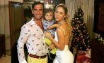 Sheyla Rojas y Antonio Pavón pasaron juntos la Navidad