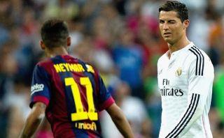 """Neymar: """"Messi y Cristiano están por encima de cualquiera"""""""