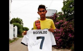 Cristiano Ronaldo: su gesto con niño que sobrevivió a tsunami