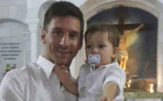 Facebook: Lionel Messi se convirtió en el padrino de su sobrino