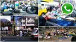 Basura en las calles: hay montículos en Breña, Comas y Callao - Noticias de jose gabriel tupac amaru