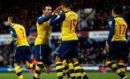 Arsenal ganó 2-1 al West Ham United por la Premier League