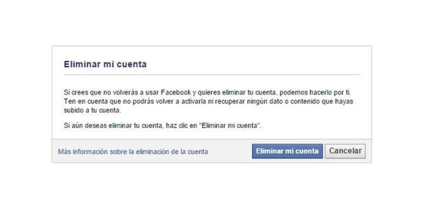 Facebook: ¿Cómo darse de baja en la red social?