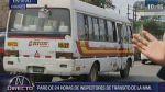Orión ingresa al corredor azul ante huelga de inspectores - Noticias de gerencia de transporte urbano