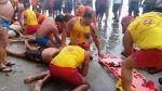 Brasil: Rayo mató a cuatro bañistas en playa de Sao Paulo - Noticias de inpe