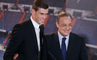 """Florentino Pérez sobre Gareth Bale: """"¡No está en venta!"""""""
