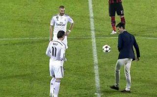 Novak Djokovic hizo pataditas con Gareth Bale y Karim Benzema