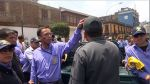 Inspectores de tránsito hacen plantón en Municipalidad de Lima - Noticias de gerencia de transporte urbano