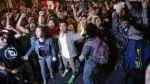 Ley juvenil: manifestantes lanzaron botellas a McDonald's - Noticias de real garcilaso