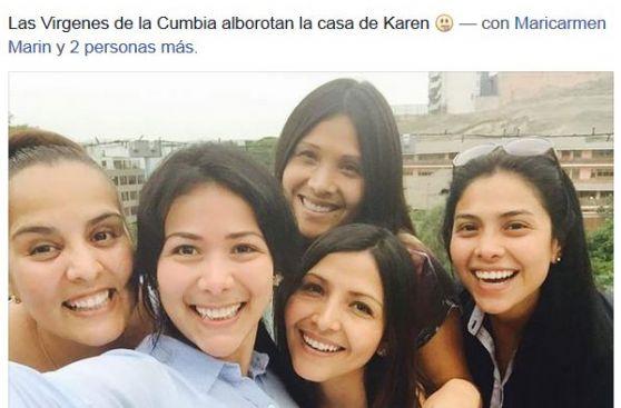canciones de virgenes de la cumbia: