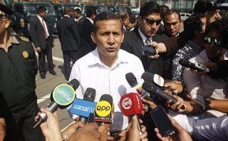 Humala arremete contra los gobiernos de Fujimori y García
