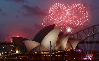 [VIDEO] Australia inauguró así la entrada del planeta al 2015