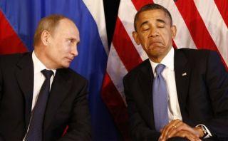 Vladimir Putin felicita a Barack Obama por el Año Nuevo