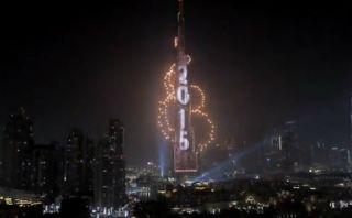 YouTube: Dubái recibió de manera espectacular el Año Nuevo 2015