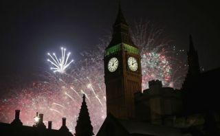 YouTube: Londres y toda Europa celebran así el Año Nuevo