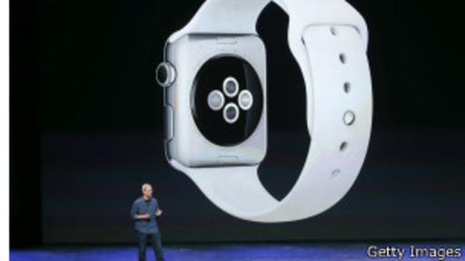 El Apple Watch debe funcionar en conjunto con un iPhone 5 o modelo posterior.