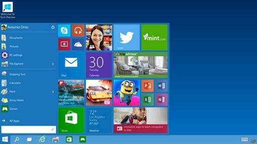 Windows 10 saldrá al mercado para los consumidores hacia principios de septiembre de 2015.