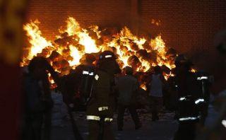 Año Nuevo: bomberos atendieron 50 incendios esta madrugada
