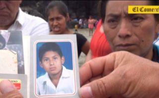 León Dormido: Familia pide ayuda para hallar cadáver de joven