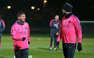 Barcelona: Messi, Neymar y Dani Alves volvieron tras vacaciones