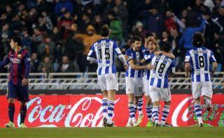 Barcelona perdió 1-0 con Real Sociedad por la Liga BBVA (VIDEO)