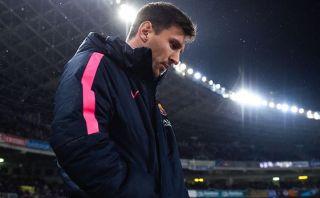 Lionel Messi no entrenó con Barcelona por una gastroenteritis