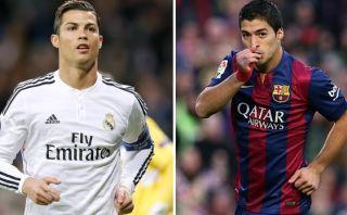 Cristiano y Luis Suárez máximos goleadores del 2014 en ligas