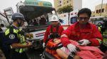 Breña: ocho heridos deja triple choque en la Av. Brasil - Noticias de dante piaggio