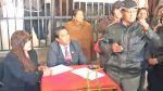 FOTOS: presidente regional de Junín despachó en la calle - Noticias de angel unchupaico