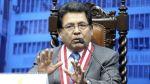 Ramos: entregaré el cargo a quien la Junta de Fiscales designe - Noticias de zoraida avalos