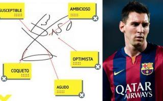 Lionel Messi: ¿sabes qué dice su firma sobre su personalidad?