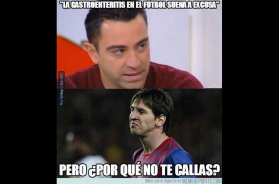 Lionel Messi, Zubizarreta y la crisis del Barcelona en memes