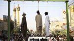 Irán ahorca en público a tres violadores - Noticias de violador