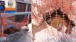 Hueco en calle de San Miguel mantiene en riesgo a vecinos - Noticias de sedapal