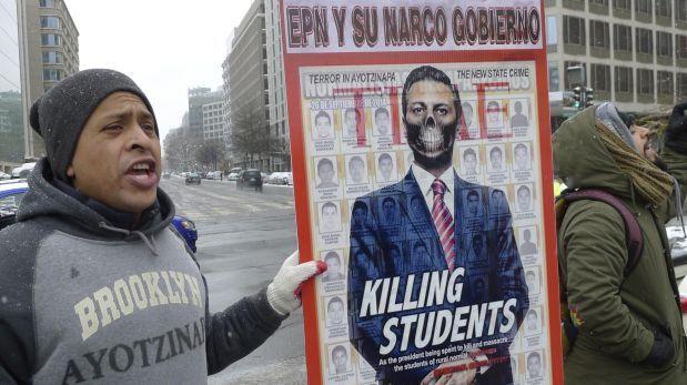 Fuera pe a nieto protestas por ayotzinapa en la casa - Fotos de la casa blanca por fuera ...