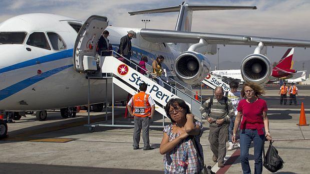 Habrá 10 millones de viajeros en vuelos dentro del país el 2015