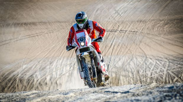 Los Ferrand esperan culminar su sexto Dakar (Foto: Prensa Pro Raid)