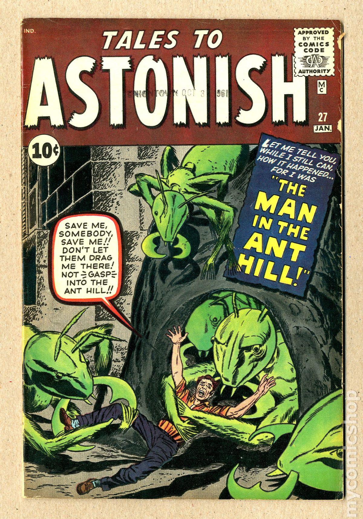 La primera aparición de Henry Pym en el cómic no fue como Ant-Man, sino como un científico que usaba su suero para reducirse.