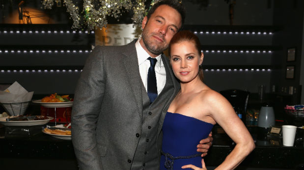 Ben Affleck y Amy Adams. (Foto: Getty Images)