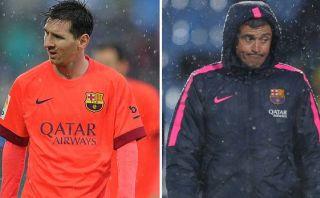 Lionel Messi: la historia de su enfrentamiento con Luis Enrique