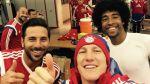 Claudio Pizarro: su selfie de inicio de año con Bayern Múnich - Noticias de rally dakar 2014