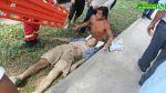 Vía WhatsApp: hombre cayó por acantilado en Chorrillos - Noticias de jose casimiro ulloa