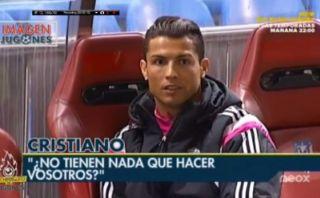 Real Madrid: Cristiano Ronaldo se molestó con un camarógrafo