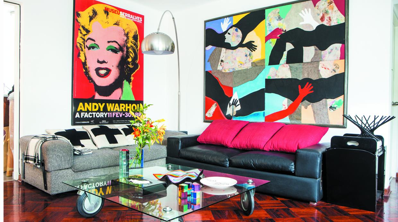 Inspiraci n pop art decora y logra espacios llenos de for Muebles pop art