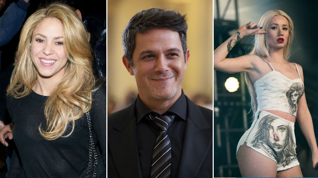 Shakira incluiría a Alejandro Sanz e Iggy Azalea en nuevo disco