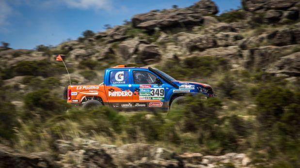 Dos camionetas, tres motos y una cuatrimoto nacional se mantiene en carrera (Foto: Prensa Alta Ruta 4x4)