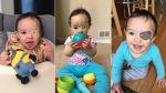 Papá convierte a su hija en personajes famosos con sus parches - Noticias de la rana rené