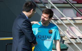 Barcelona: ¿Presidente respalda a Messi y no a Luis Enrique?