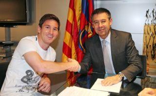 Bartomeu negó reunión con Messi para hablar sobre Luis Enrique